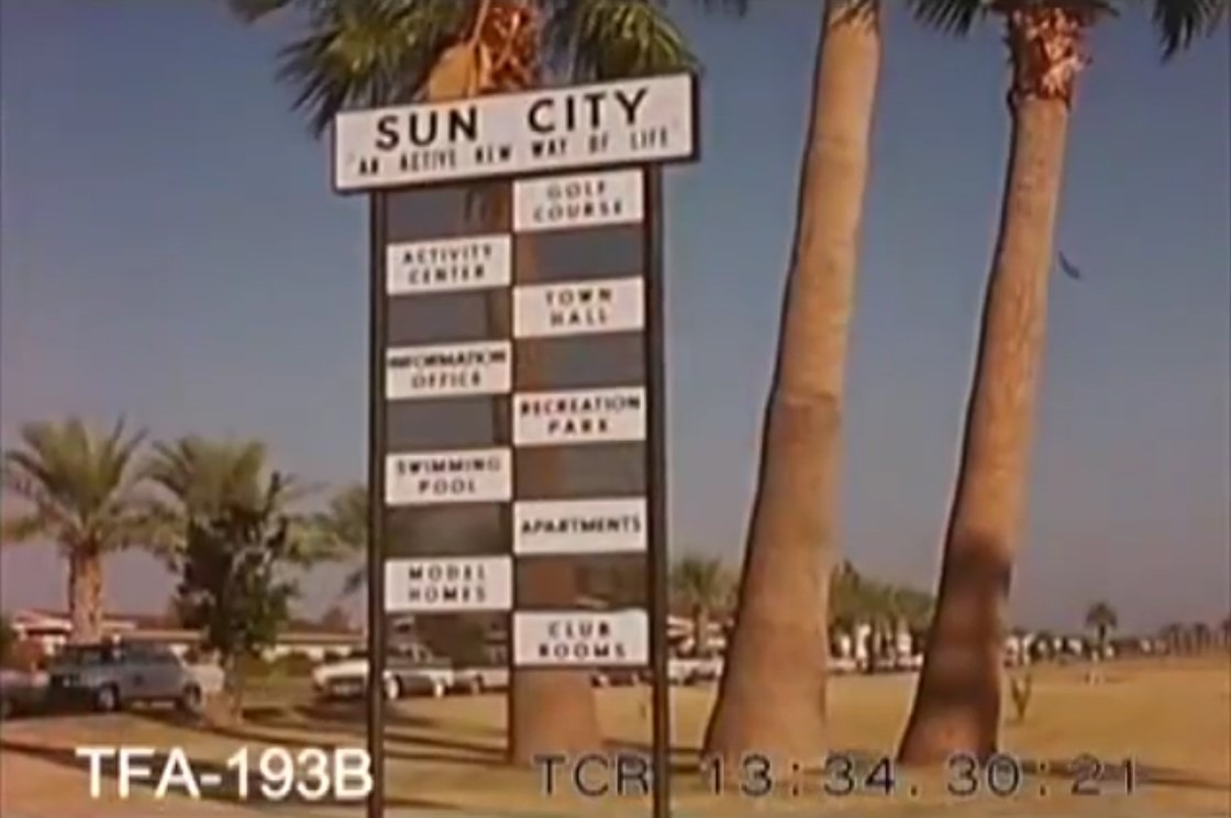 Valley of the Sun featuring The Sun City Retirement Community